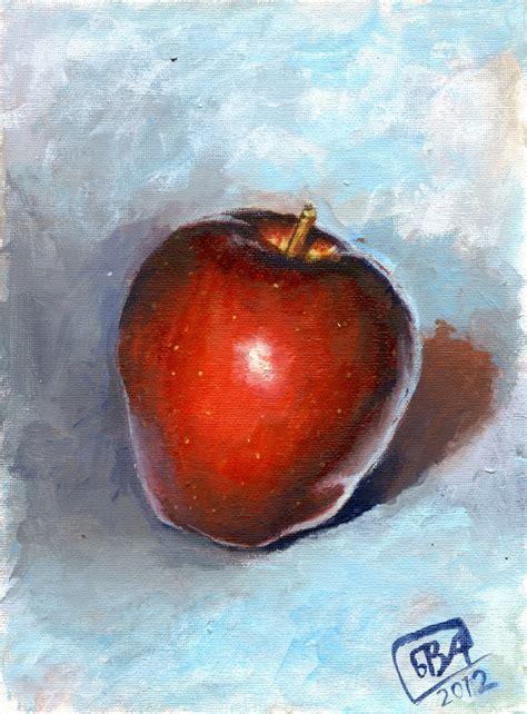 acrylic painting apple acrylic paint pract apple002 by natura bva on deviantart