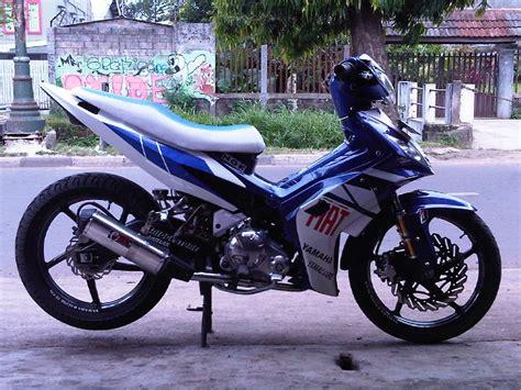 Gambar Motor Drak Jupiter Mx King by 70 Gambar Modifikasi Motor Mx 2008 Terkeren Kakashi