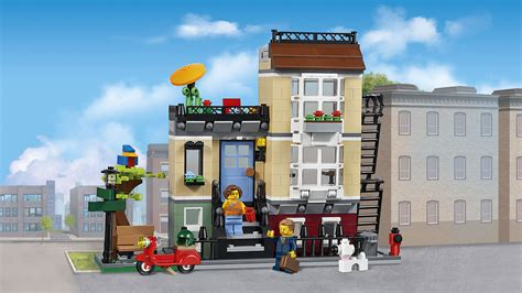 st set 31065 park townhouse products creator lego