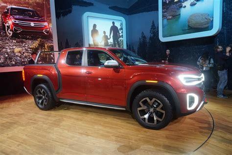 New Volkswagen Truck by Introducing The Volkswagen Atlas Tanoak Finally A Truck