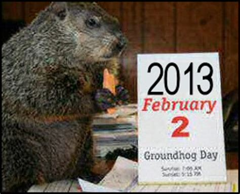 groundhog day expression groundhog jokes and quotes quotesgram