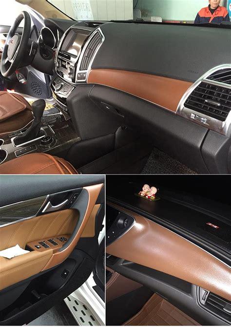 Suede Wrap Car by Leather Suede Vinyl Car Furniture Wrap Sticker Stretch
