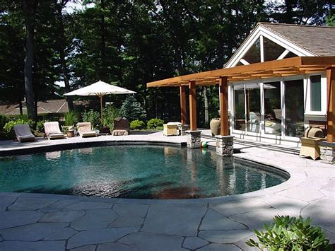 house plans with pool house guest house custom home additions renovations guest house and pool concord ma