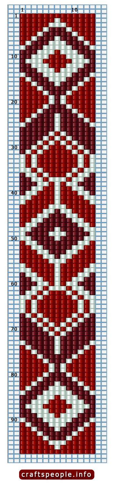 bead loom designs diy american belt part i motte american
