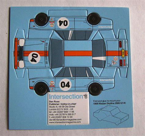 how to make a car card 絶対に取っておかれそうなデザイン名刺のアイデアいろいろ webマーケティング ブログ