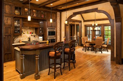 Paint Kitchen Island elegant english country home traditional kitchen