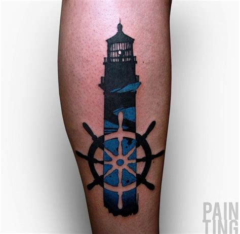 40 incredible lighthouse tattoo designs tattoos hub