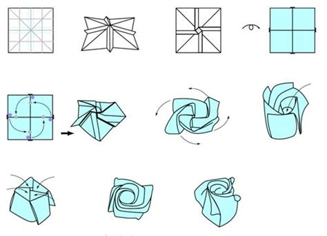 origami flower pdf 17 best ideas about origami on origami
