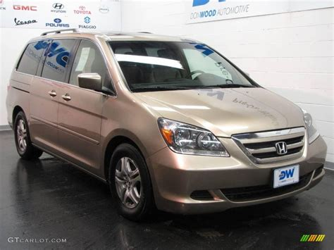 2005 Honda Odyssey Ex L by 2005 Desert Rock Metallic Honda Odyssey Ex L 24945296
