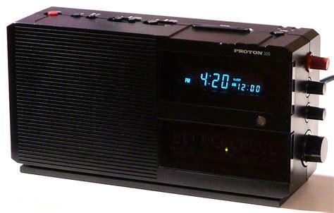 Proton Electronics by Proton 320 Clock Radio Atomicspacejunk