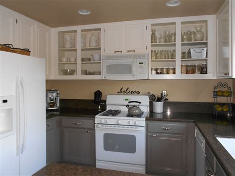 spray painting kitchen cabinets before and after the summer house by miller