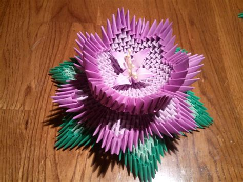 3d origami lotus flower tutorial 3d origami lotus by akvees on etsy