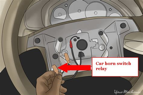 repair instructions horn switch replacement on vehicle 1999 oldsmobile intrigue intrigue how to fix a car horn yourmechanic advice