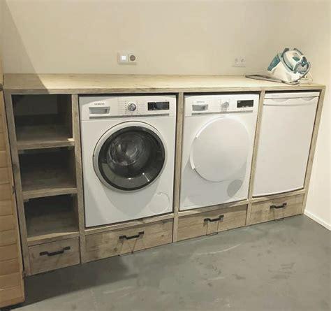Tafel Wasmachine Ikea by Wasmachine Ombouw Woodchoice