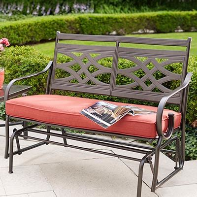 patio bench cushion outdoor cushions outdoor furniture the home depot