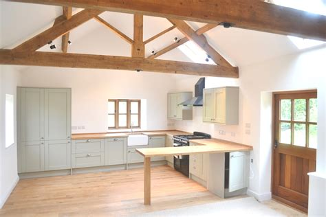 Kitchen Designs For Small Space barn conversion ravensthorpe northamptonshire