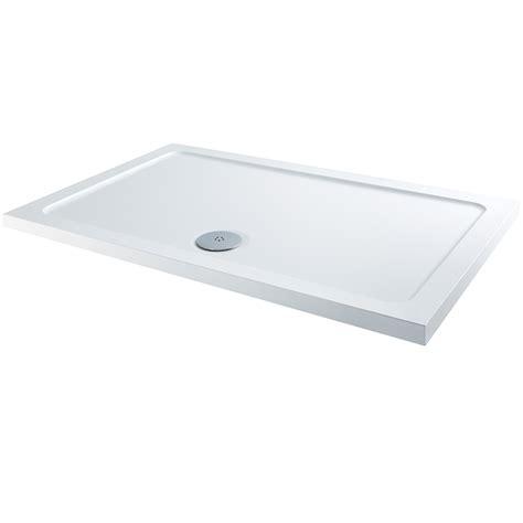 bath shower tray elements slimline rectangular shower tray 1300 x 900