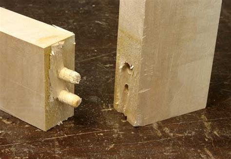 strongest joint in woodworking testing wood joints to failure popular woodworking magazine