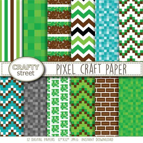 paper pixel craft pixel craft digital paper digital paper birthday digital
