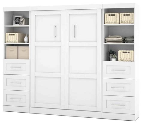 wall unit bedroom furniture sets wall bed unit with drawers in white contemporary