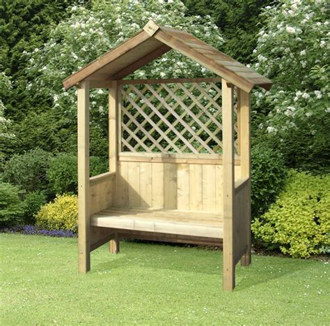 Garden Arch And Bench Edinburgh Sheds Garden Arches Arbours Seats Benches Timber