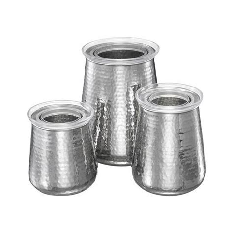 stainless steel canister sets kitchen organize it home office garage laundry bath