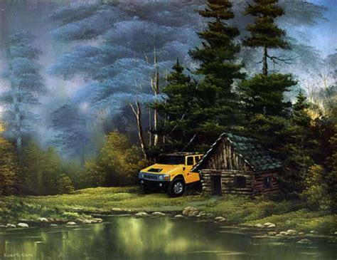 bob ross painting cabin bob ross painting cabin www pixshark images