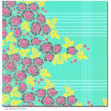 patterned craft paper uk 6 x 6 patterned paper floral design 1 sheet 163 0 15