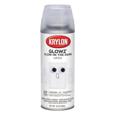 glow in the paint krylon review shop krylon white glow in the lacquer spray paint