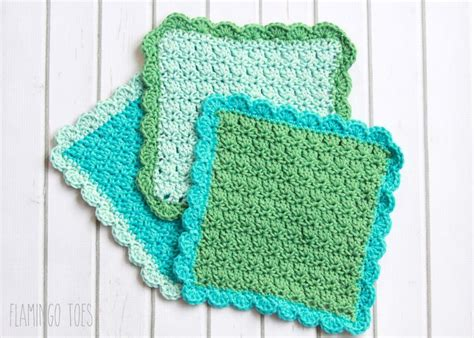 easy knitted dishcloth 1000 images about crochet dishcloths washcloths spa