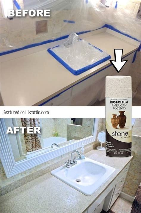 spray paint laminate countertops 1000 ideas about spray paint countertops on