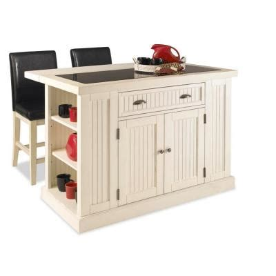 kitchen island home depot home styles nantucket kitchen island in distressed white