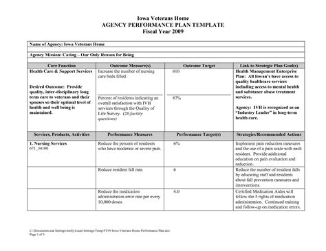 home health care plan template bing images