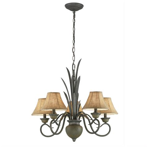 lowes chandelier enlarged image