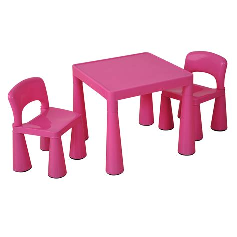 and tables children s table chair set pink profile education