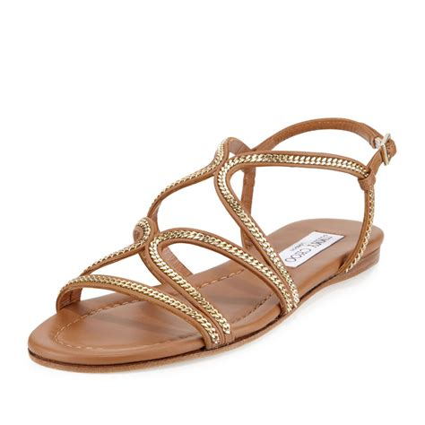 sandals with shop flat chain sandals from summer 2016 spotted
