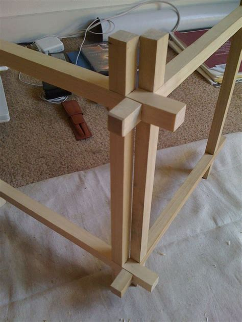 traditional woodworking joints japanese joinery lantern in progress tectonic wood