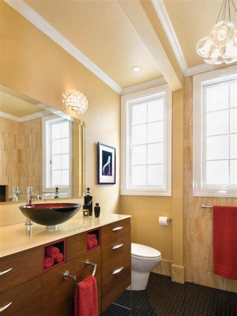 Bathroom Towels Ideas small bathrooms mean big designs