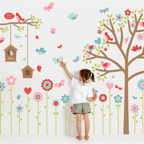 childrens nursery wall stickers wall stickers nursery stickers wall decals tinyme