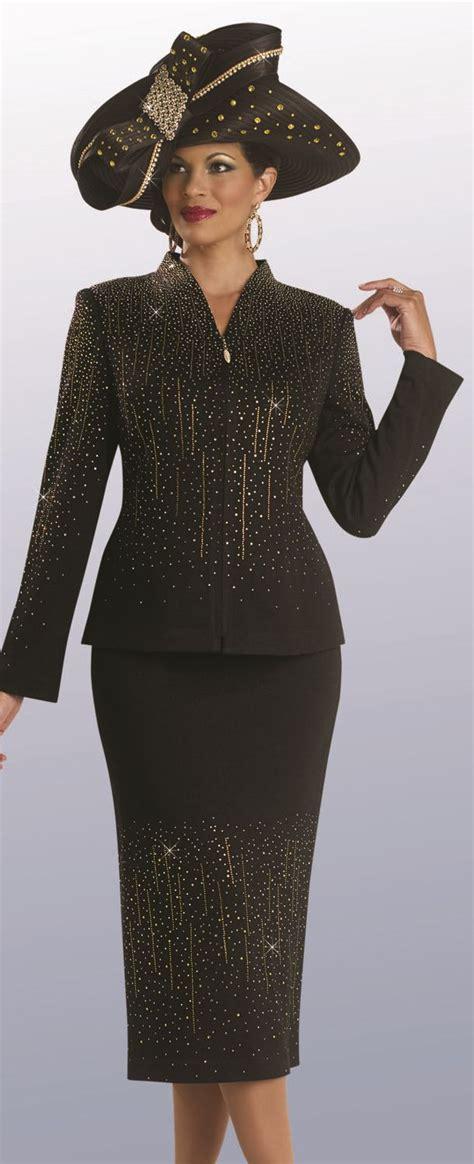 knit suits for donna vinci 13084 womens knit church suit novelty