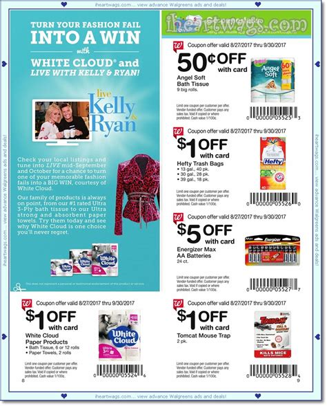 walgreens picture book i wags ad scans september 2017 coupon book 08 27 09 30