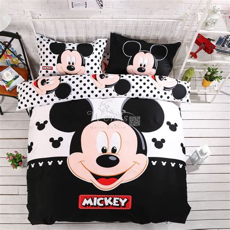 size mickey mouse comforter sets popular mickey mouse king size bedding buy cheap mickey