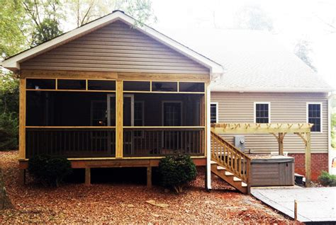 Building Screened Porch by Decks Porches Patios Walkways Amp More Occ Group