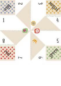 printable origami fortune teller template quoteko