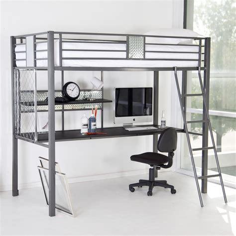 college desk loft bed with desk plans furniture ideas