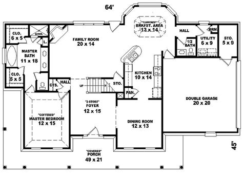 colonial house floor plans mint mill southern colonial home plan 087d 0485 house plans and more