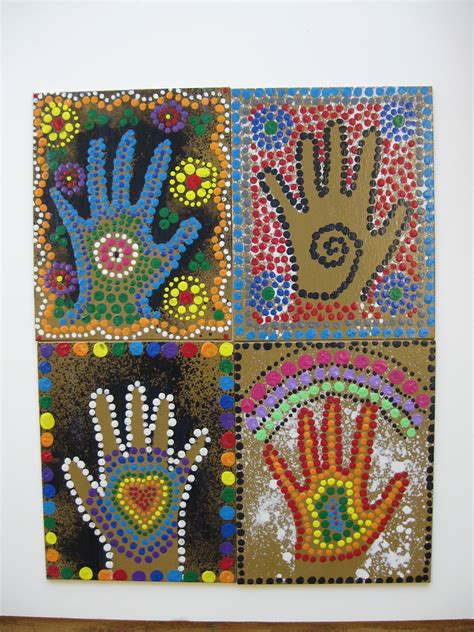 aboriginal crafts for aboriginal projects on dot painting