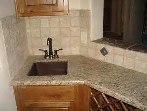 backsplash designs travertine travertine tile backsplash no grout home design ideas