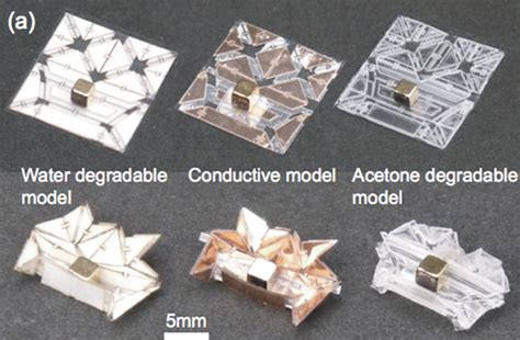 origami robot self folding mini origami robots are the nanosurgeons of