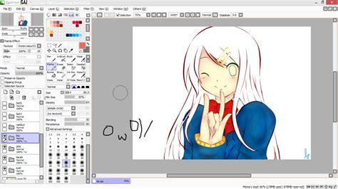 paint tool sai ke stažení zdarma tutorial paint tool sai tutorial mewarnai anime di paint
